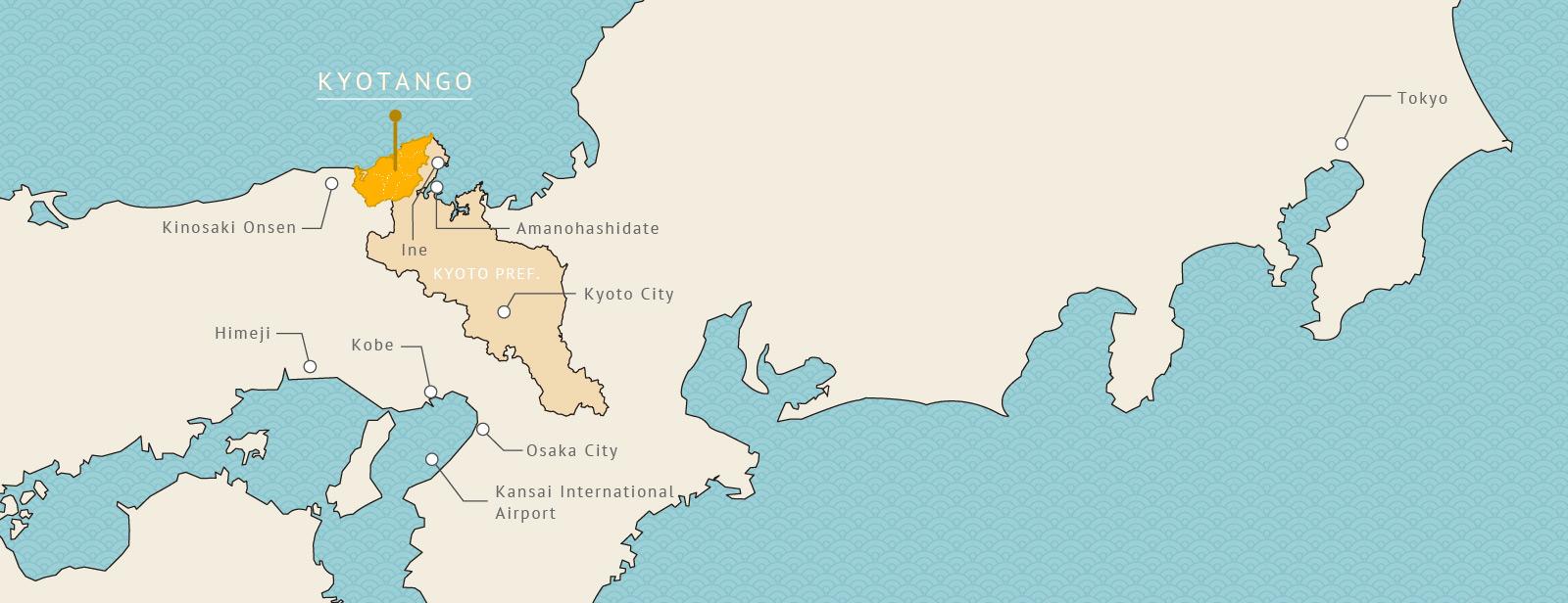 Kyotango Map