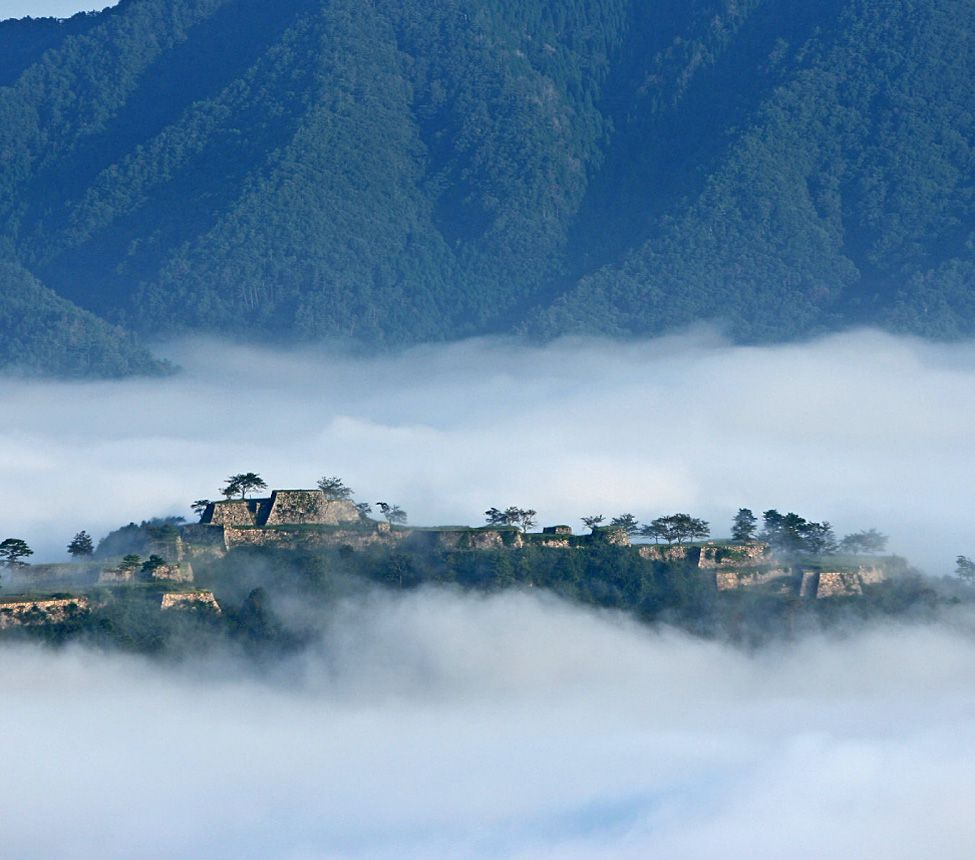 Takeda Castle Ruins aka castle in the sky